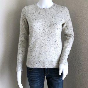 Everlane Sweater 100% Cashmere Crewneck Speckled